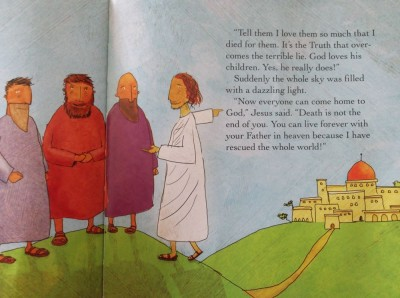 a page from the jesus storybook bible