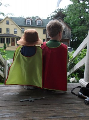 superhero capes without letters