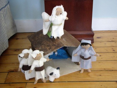 nativity exterior shot