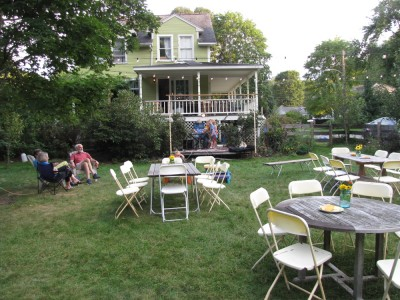 the party lawn