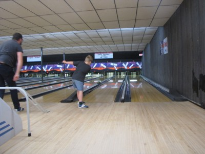 Harvey bowling