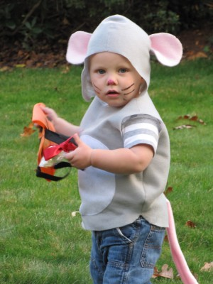 more Harvey in his mouse costume
