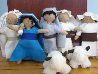 the members of harvey's nativity set