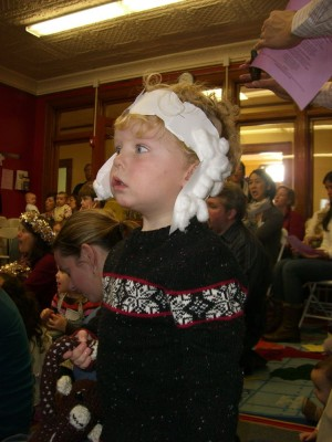 harvey at the kids church pageant