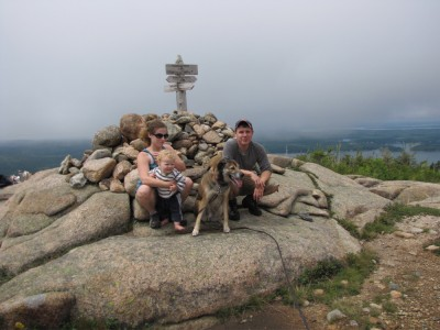 the archibalds on the summit of Parkman