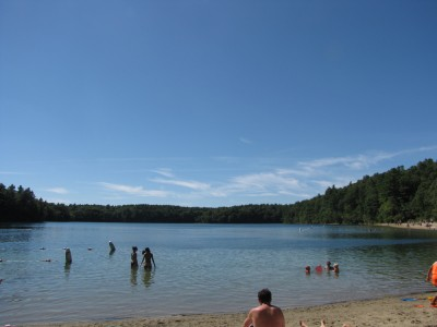 Walden Pond, late August 2013