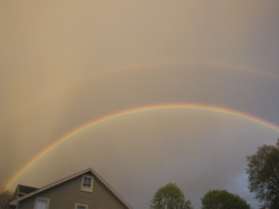 a pretty good double rainbow