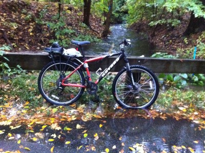 my bike and a full brook