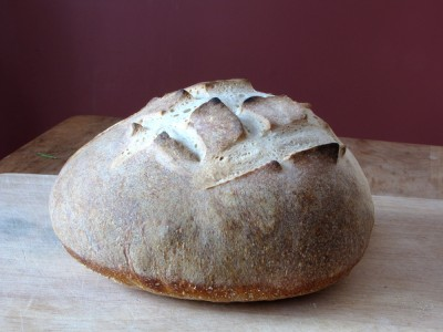 an acceptable-looking loaf of bread