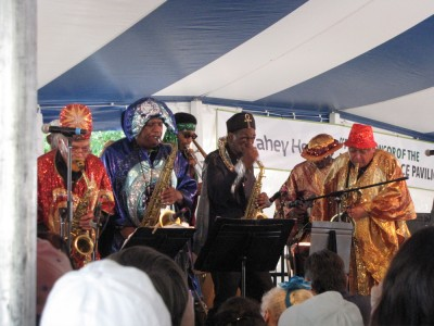 the Sun Ra Arkestra at the Lowell Folk Festival