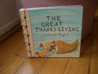 cover of harvey's board book The Great Thanksgiving