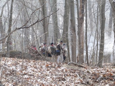 minutemen in the woods