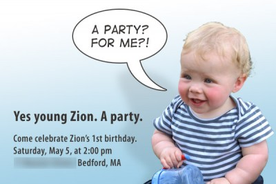 the invitation to zion's party